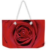 Swirling Red Silk Weekender Tote Bag