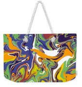 Swirls Drip Art Weekender Tote Bag
