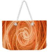 Swirls Of Orange Weekender Tote Bag