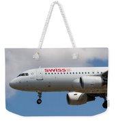 Swiss Airlines Airbus A320 Weekender Tote Bag