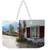 Swiss Cottage Weekender Tote Bag