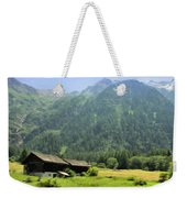 Swiss Mountain Home Weekender Tote Bag