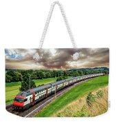 Swiss Passenger Train Weekender Tote Bag