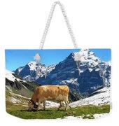 Swiss Scene Weekender Tote Bag