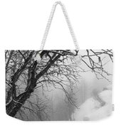 Swiss  Snow Fall Weekender Tote Bag