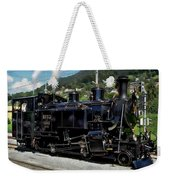 Swiss Steam Locomotive Weekender Tote Bag