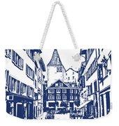 Swiss Street Weekender Tote Bag