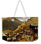 Swiss Travel Poster, 1898 Weekender Tote Bag