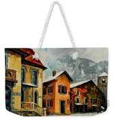 Switzerland - Town In The Alps Weekender Tote Bag