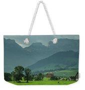 Switzerland Countryside Weekender Tote Bag