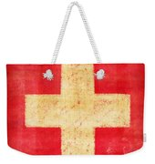 Switzerland Flag Weekender Tote Bag by Setsiri Silapasuwanchai