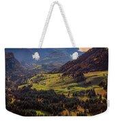 Switzerland Weekender Tote Bag