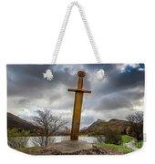 Sword Of Llanberis Snowdonia Weekender Tote Bag