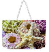 Syarfish And Sea Urchins Weekender Tote Bag