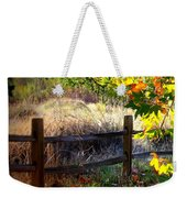Sycamore Grove Fence 1 Weekender Tote Bag