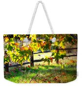 Sycamore Grove Fence 2 Weekender Tote Bag