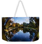 Sycamore Pool Through A Glass Eye Weekender Tote Bag