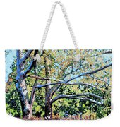 Sycamore Trees At The Zoo Weekender Tote Bag