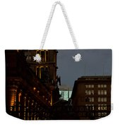 Sydney Clock On Anzac Day At Dawn Weekender Tote Bag