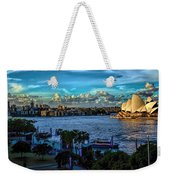 Sydney Harbor And Opera House Weekender Tote Bag