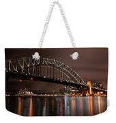 Sydney Harbor At Night Weekender Tote Bag