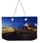 Sydney Opera House At Night Weekender Tote Bag