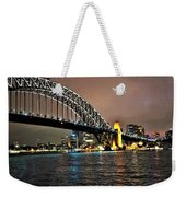 Sydney Harbor Bridge Night View Weekender Tote Bag