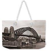 Sydney Harbor Bridge Platinum Weekender Tote Bag