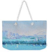 Sydney Harbour And The Opera House Weekender Tote Bag