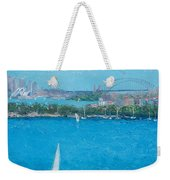 Sydney Harbour And The Opera House Vacation Weekender Tote Bag