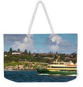 Sydney Harbour Panorama Weekender Tote Bag