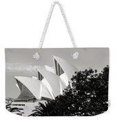 Sydney Opera House Black And White Weekender Tote Bag