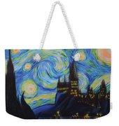 Syfy- Starry Night In Hogwarts Weekender Tote Bag
