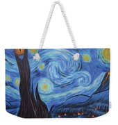 Syfy- Starry Night In Mordor Weekender Tote Bag