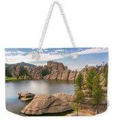 Sylvan Lake View Weekender Tote Bag