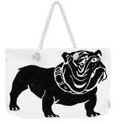 Symbol: Bulldog Weekender Tote Bag
