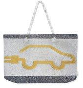 Symbol For Electric Car Weekender Tote Bag