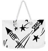 Symbol: Independence Day Weekender Tote Bag