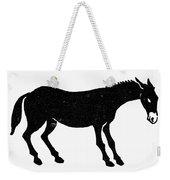 Symbol: Mule Weekender Tote Bag
