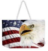 Symbol Of America Weekender Tote Bag by Teresa Zieba