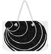 Symbol: Silence Weekender Tote Bag