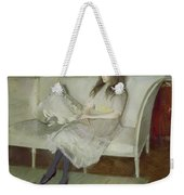 Symphony In White Weekender Tote Bag