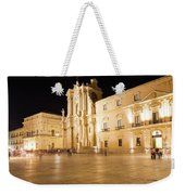 Syracuse, Sicily, Italy - Ortigia Downtown In Syracuse By Weekender Tote Bag