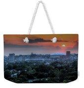 Syracuse Sunrise Weekender Tote Bag by Everet Regal