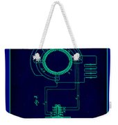 System Of Electrical Distribution Patent Drawing 2a Weekender Tote Bag