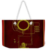 System Of Electrical Distribution Patent Drawing 2b Weekender Tote Bag