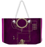 System Of Electrical Distribution Patent Drawing 2c Weekender Tote Bag
