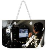 System Operator Operates A Console Weekender Tote Bag