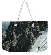 T-504102 1st Ascent On Mt. Shuksan Weekender Tote Bag