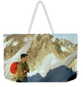 T-504412 Walt Buck Sellers At Bivouac Site Weekender Tote Bag